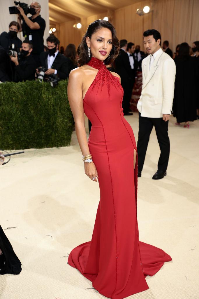 Eiza Gonzalez wearing Versace