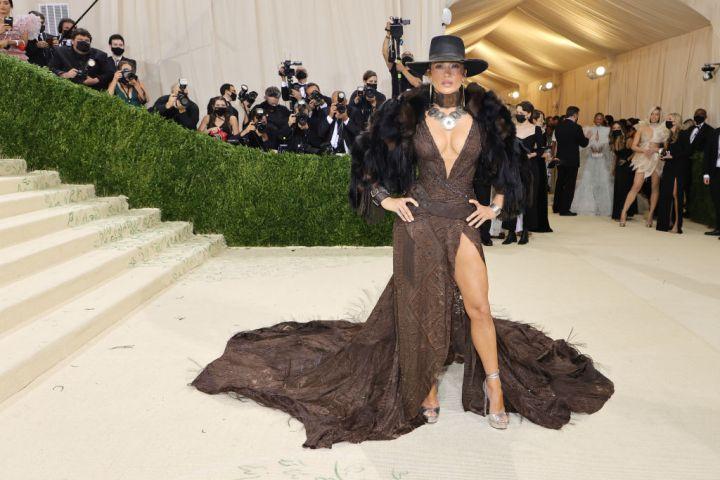 Jennifer Lopez wearing Ralph Lauren