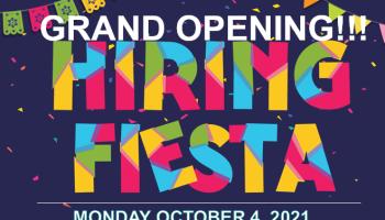 Staff Management Grand Opening Hiring Event