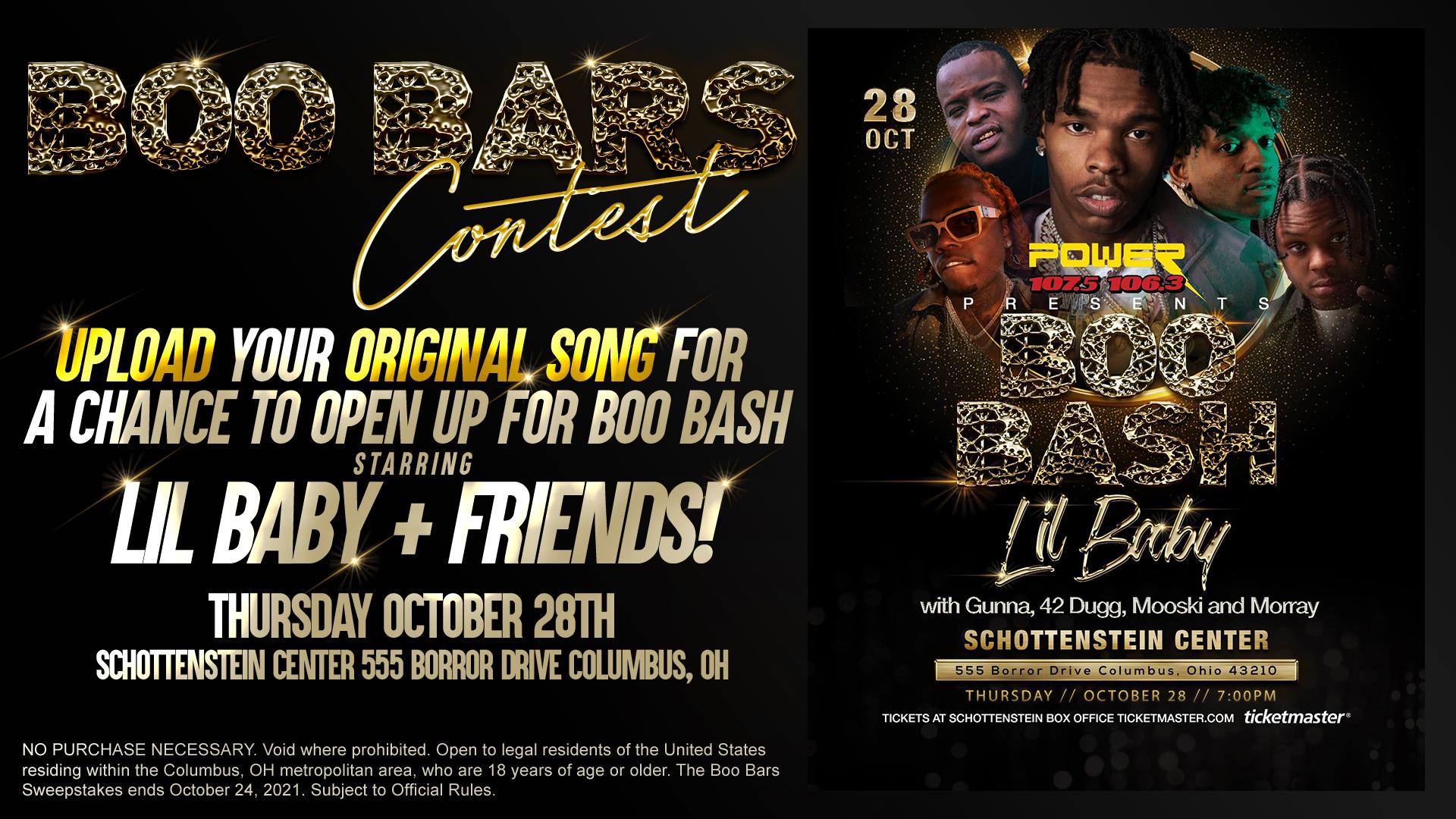 Boo Bars Contest