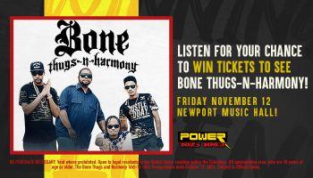 Bone Thugs Contest Graphic WCKX