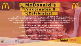 Mcdonalds Vaccination/Boo Bash Remote